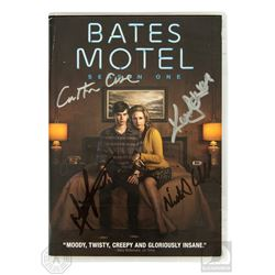 Bates Motel Season One 3-Disc DVD Set Signed by 3 Cast Members & Carlton Cuse