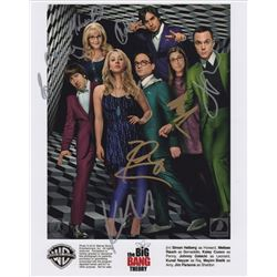 The Big Bang Theory Lego Set & Photo Signed by All 7 Cast Members
