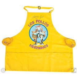 Breaking Bad Los Pollos Hermanos Apron Signed by Giancarlo Esposito