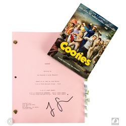 Cooties Script Signed by Jorge Garcia & Cooties DVD
