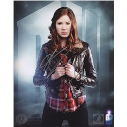 Doctor Who Amy Pond Photo Signed by Karen Gillan