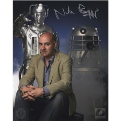 Doctor Who Nicholas Briggs Signed Photo