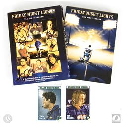 Friday Night Lights: The First Season 3-Disc DVD Set Signed by 5 Cast & Trading Card Art Set