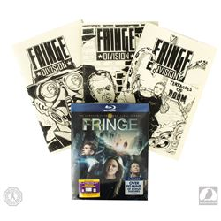 Fringe Set of 3 Authentic Screen-Used Comic Books & Season 5 Blu-ray