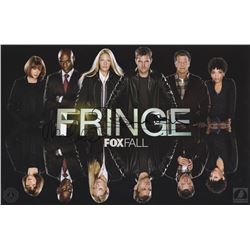 Fringe FOX Fall Promo Poster Signed by John Noble & Michael Cerveris