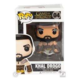 Game of Thrones Khal Drogo Funko Pop! Figure Signed by Jason Momoa