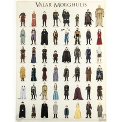 "Game of Thrones ""Valar Morghulis"" Max Dalton Limited Edition Art Print"