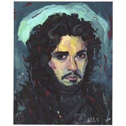 "Game of Thrones ""Jon Snow"" Rich Pellegrino Limited Edition Art Print"