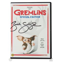 Gremlins Special Edition DVD Signed by Zach Galligan