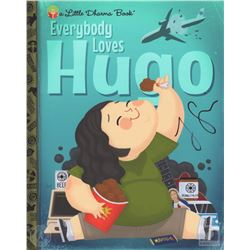"LOST ""Everybody Loves Hugo"" Little Dharma Book Giclee Art Signed by Jorge Garcia"