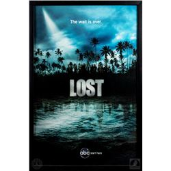 "LOST Framed Season Four ""The Wait is Over"" Poster"