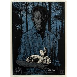 """LOST ARG Limited Edition """"Ben Linus"""" Print Signed by Carlton Cuse & Damon Lindelof"""