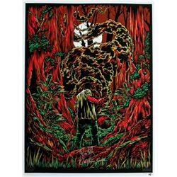 "LOST ARG Limited Edition ""The Smoke Monster"" Art Print Signed by Carlton Cuse & Damon Lindelof"
