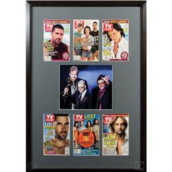 LOST Custom Framed TV Guide Covers