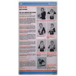 LOST Oceanic Airlines Safety Card Prototype for DVD Set