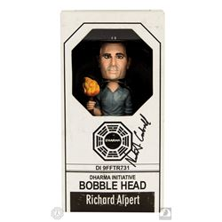 LOST Richard Alpert Bobblehead Signed by Nestor Carbonell