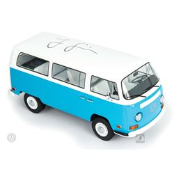 LOST 1971 Volkswagen Type 2 Die-Cast Metal Dharma Van Signed by Jorge Garcia