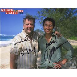 LOST Daniel Dae Kim and Daniel Roebuck Signed Photo