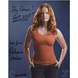 LOST Charlotte Photo Signed by Rebecca Mader