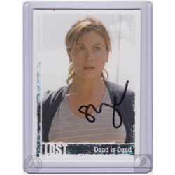 "LOST ""Dead is Dead"" Penny Trading Card Signed by Sonya Walger"