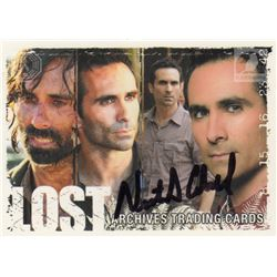 LOST Richard Alpert Trading Card Signed by Nestor Carbonell