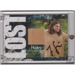 LOST Hurley Collectible Costume Card Signed by Jorge Garcia