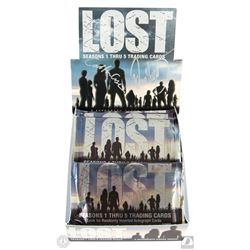 LOST Seasons One Thru Five Trading Cards Box Set Signed by Carlton Cuse & Damon Lindelof