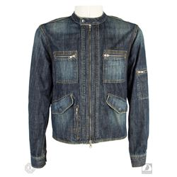 "LOST Jack Shephard Authentic Screen-Used ""We Have to Go Back"" Denim Jacket Worn by Matthew Fox"