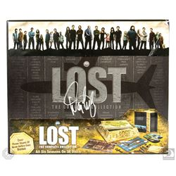 LOST Complete Series DVD Box Set Signed by Jorge Garcia & 4 Writers/Producers