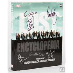 LOST Encyclopedia Signed by Jorge Garcia & 4 Writers/Producers