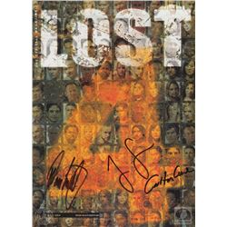 LOST Magazine Issue #4 Collector's Edition Signed by Jorge Garcia, Carlton Cuse & Damon Lindelof