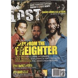 LOST Magazine Issue #19 Signed by Cusick, Daniel Dae Kim & Perrineau