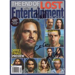 LOST Entertainment Weekly Cover Signed by Cuse, Dae Kim, Garcia & Lindelof