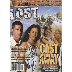LOST Magazine #1 Rare Unpublished Version Signed by Cuse, Lindelof & Grillo-Marxuach