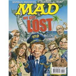 "LOST MAD Magazine ""We Get LOST"" Cover Signed by Jorge Garcia, Carlton Cuse & Damon Lindelof"
