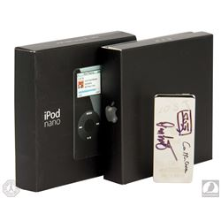 LOST Season One Cast/Crew iPod Nano Signed by Carlton Cuse, Damon Lindelof & Javier Grillo-Marxuach
