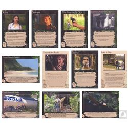 LOST: The Game One-of-a-Kind Prototype Pitch Cards