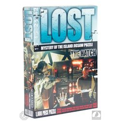 "LOST Prototype ""Mystery of the Island Jigsaw Puzzle: The Hatch"""