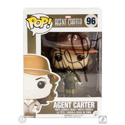 Marvel's Agent Carter Photo & Exclusive Sepia Tone Funko Pop! Figure Signed by Hayley Atwell