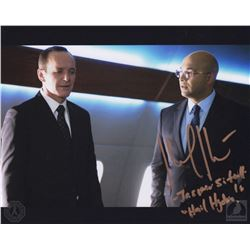 Marvel's Agents of S.H.I.E.L.D. Agent Sitwell Photo Signed by Maximiliano Hernandez