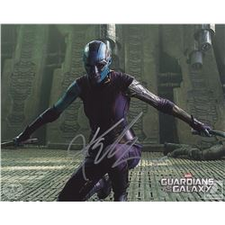 Marvel Guardians of the Galaxy Nebula Photo Signed by Karen Gillan