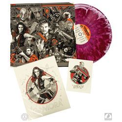 Marvel Guardians of the Galaxy Limited Edition Vinyl Record Mondo LP: Awesome Mix Vol 1