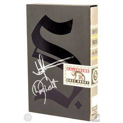 """S."" Hardcover Book Signed by J.J. Abrams & Doug Dorst"