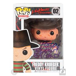 A Nightmare on Elm Street Freddy Krueger Funko Pop! Figure Signed by Robert Englund
