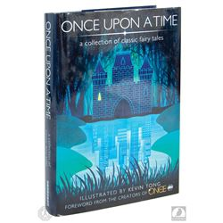 Once Upon a Time: A Collection of Classic Fairy Tales Hardcover Book Signed by Horowitz & Kitsis