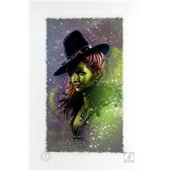 Once Upon a Time Zelena Art Print by Jason Palmer