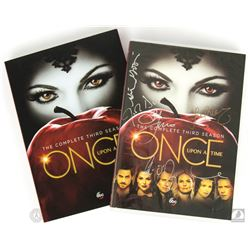 Once Upon a Time: The Complete 3rd Season DVD Signed by 5 Cast Members