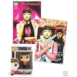 Orphan Black Funko Pop! Alison Figure & Signed Comic Book