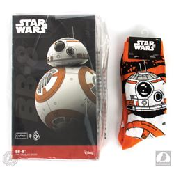 Star Wars: The Force Awakens BB-8 Sphero App-Enabled Droid & Pair of BB-8 Socks