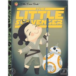 "Star Wars: The Force Awakens ""The Little Scavenger"" Joey Spiotto Print & BB-8 Pin"